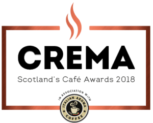 Crema - The Scottish Cafe Awards